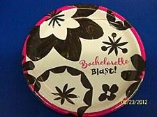 "Bachelorette Blast 9""Plates"