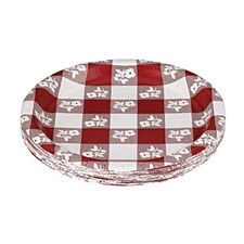 Red Gingham 7IN Plate