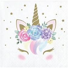 Unicorn Baby Bev Napkin