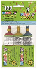 Party Snaps Boxes & 3 Poppers, 2ct