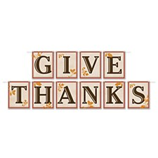 """Give Thanks"" Banner"