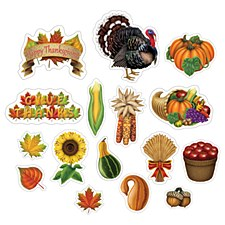 Thanksgiving Cutouts Beistle 90753