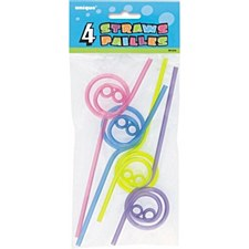 Smiley Straws Plastic