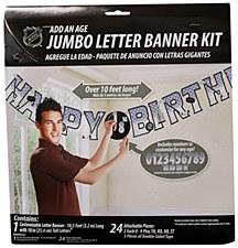 NHL Jumbo Letter Kit Add An Age Banner
