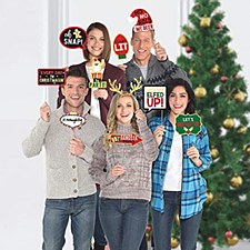 Christmas Words Photo Props