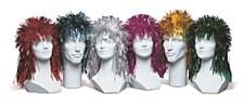 Punk Foil Wig - Assorted