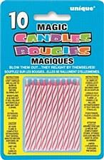 10ct Magic Candles