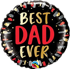 "18"" Best Dad Ever"