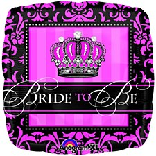 """18"""" Crowned Bride to Be"""