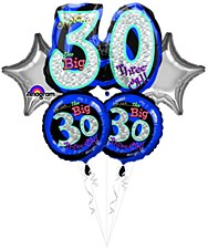 """Oh No! It`s My """"30th"""" Birthday Bouquet"""
