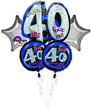 """Oh No! It`s My """"40th"""" Birthday Bouquet"""