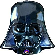 """25""""Darth Vader Helmet Black"""