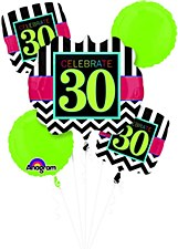 "Birthday Celebration ""30"" Bouquet"