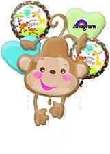 Fisher Price Baby Monkey Bouquet