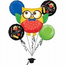 Hip Hip Hooray Bouquet of Balloons