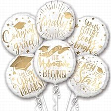Grad Messages Bouquet Of Balloons