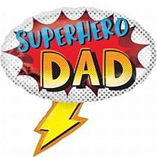 Superhero Dad Supershape