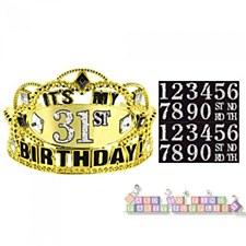 Add Any Age Birthday Tiara