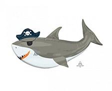"""41"""" Ahoy Shark"""