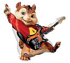 "32""Alvin And The Chimpmunks"