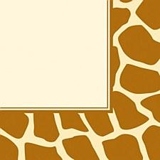 Animal Print-Giraffe Lunch Napkins