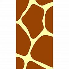 Animal Print-Giraffe Guest Towels