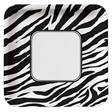 Animal Print Zebra 10IN Plate