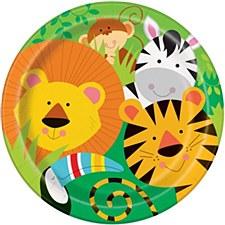 "Animal Jungle 9""Plates"
