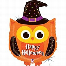 Halloween Owl Holographic Supershape