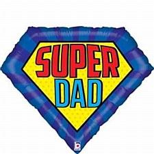 Super Dad Large Balloon