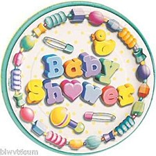 8 BABY BLISS 9'' PLATES