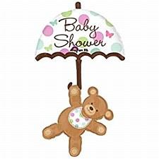 Baby Shower Umbrella & Bear