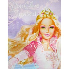 You Are Invited Barbie Invitations