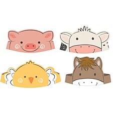 Farm Animals Crowns