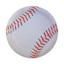 Baseball 7in Dessert Plate 8ct.