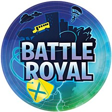 Battle Royal 9in Paper Plates