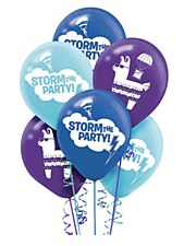 Battle Royal Storm The Party Latex Ballons Bouquets