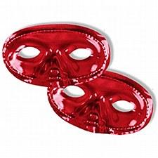Metallic Half Mask