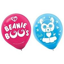 Beanie Boos Latex Balloons