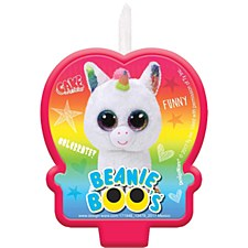 Beanie Boos Birthday Candle