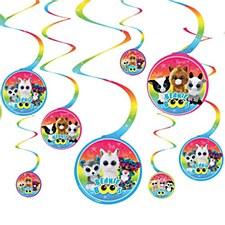 Beanie Boos Spiral Decoration Value Pack