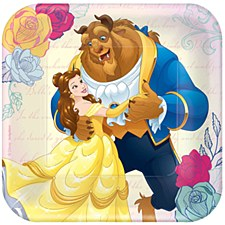"Beauty & The Beast 7""Plates"