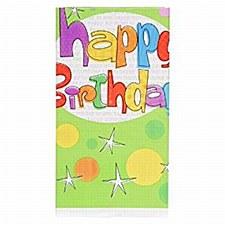 Birthday Glee Tablecover