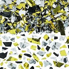 Sparkle Foil Confetti Gold,Silver,Black