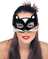 Black Kitty Eyemask