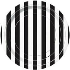 Black Stripe 7IN Plate