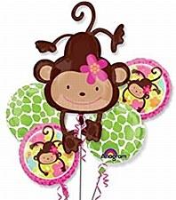 Monkey Love Balloon Bouquet