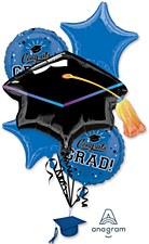 Blue Congtas Grad Balloon Bouquet