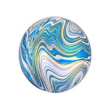 "16"" Blue Marblez Orbz"
