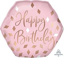 "23""Blush Birthday"